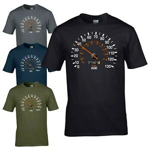 Speedometer 1981 40th Birthday T-Shirt - Funny Feels Age Year Present Mens Gift