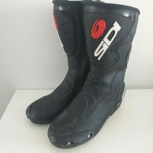 Sidi Fusion Ladies Motorcycle Boots Excellent Condition Size UK 10.5 EU 45