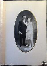 Photo Ancienne Portrait Couple Mariage - an. 20