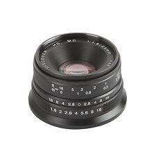 Camera 25mm F/1.8 HD MC Manual Focus Lens for SONY E mount NEX5N 6 7 A6000 A7 II