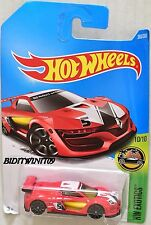 HOT WHEELS 2017 HW EXOTICS RENAULT SPORT R.S. 01 #10/10 RED