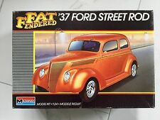 Monogram 1/24 1937 Ford Street Rod Plastic Model Kit # 2757 Opened Box