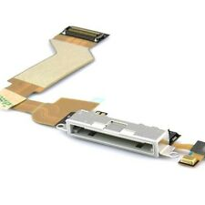 New iPhone 4S White Charging Port Dock Connector Flex Cable Replacement With Mic