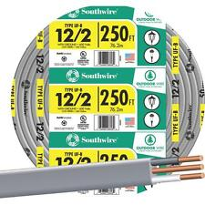 Southwire 250' 12-2 Ufw/G Wire