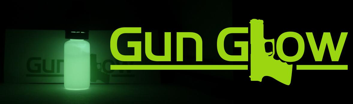 Gun Glow-gun sight paint that glows