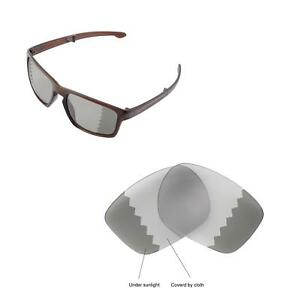 Walleva Transition Polarized Replacement Lenses For Oakley Sliver F Sunglasses