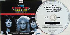 CHER CD Pretenders Chrissie Hynde Neneh Cherry Eric CLAPTON Love Can Build NEW