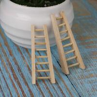 Miniature Dollhouse Fairy Garden Jute /& Wood Ladder Buy 3 Save $5