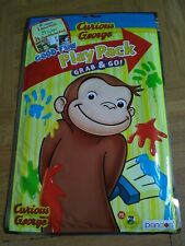 Curious george Play Pack /Grab & Go/ 24 Page Coloring Book, 25 Stickers, 1.