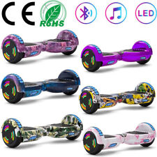 Hoverboard 6,5 Zoll Bluetooth Selbst Balance Board Elektro Roller LED E-Scooter