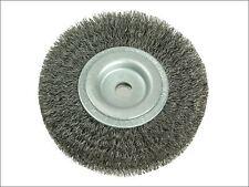 Lessmann-wheel brush D100mm x W20-22 x 30 bore set 1 fils en acier 0.30