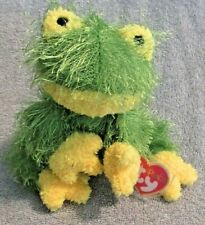 Ty Punkies Collection Beanie Baby Hopscotch the Frog Green Yellow