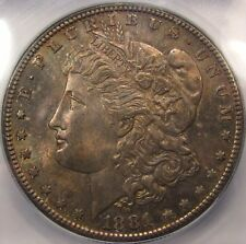 1881-S Morgan Dollar. ICG MS65 Plus. Nice Layered Toning.