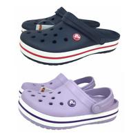 Crocs Kids Unisex Junior Crocband Clogs comfy casual water friendly shoes NEW