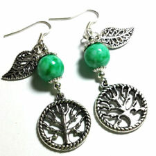 Turquoise Silver Plated Handcrafted Earrings