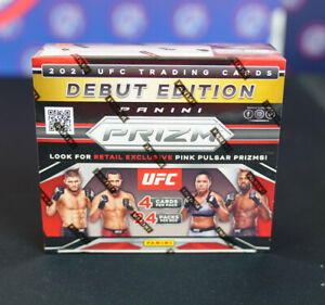 2021 Panini Prizm UFC 24 Pack Retail Box Factory Sealed FAST SHIP