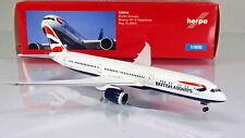Herpa Wings 528948 British Airways Boeing 787-9 Dreamliner-scale 1/500