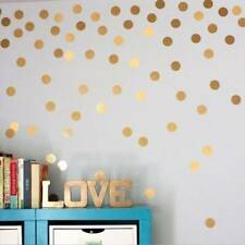 52Pcs Polka Dots Wall Sticker Nursery Stickers Wall Decal DIY Home Decoration