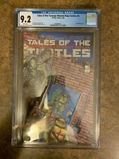 Tales Of The Teenage Mutant Ninja Turtles #4 CGC 9.2 1988 First Rat King Key!