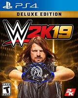 WWE 2K19 Deluxe Edition - Sony PlayStation 4