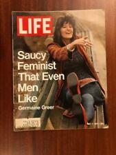 LIFE Magazine,May 7,1971 Saucy Feminist GERMAINE GREER