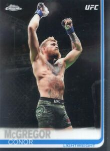 2019 TOPPS UFC CHROME BASE CONOR McGREGOR #93 IRELAND