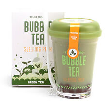 [ETUDE HOUSE] Bubble Tea Sleeping Pack #Green Tea 100g Rinishop
