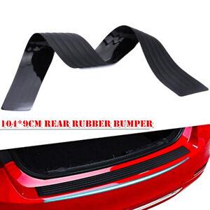 104CM Rubber Car Sill Plate Bumper Guard Protector Pad Cover Defender Anti-skid