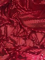 """1 MTR PURPLE 6mm SHINY SPARKLY SEQUIN DRESS FABRIC..45"""" WIDE NEW IN STOCK"""