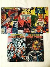 STAR TREK DC VOL 1 LOT #3,5,25,29,50, VF+8.5, DC 1984-1988, COMBINED SHIPPING