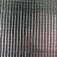 weiß Folie 0,07mm Grow  Indoor Anzucht Gewächshausfolie 50x2m = 100m² schwarz