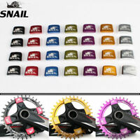 SNAIL Mountain Bike Chainring Bolts Aluminum Crankset Nut Chainwheel Screws