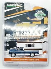 Greenlight 1969 Chevy C10 Cheyenne with Large Camper #30121