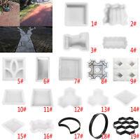 Garden Path Maker Mold DIY Driveway Paving Stone Concrete Pavement Mould