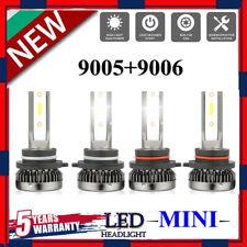Mini CREE 9005+9006 200W 48000LM Car LED Headlight Kit High Low Light Bulb 6000K