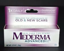 MEDERMA ADVANCED SCAR GEL, REDUCES THE APPEARANCE OF OLD & NEW SCARS (0.70 OZ)