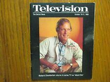 Oct. 15, 1989 Detroit News Television Magazine(RICHARD  CHAMBERLAIN/ISLAND  SON)