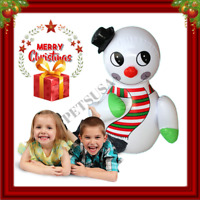 Cute Christmas Inflatable Snowman Toy for Kids Xmas Gift Decoration Outdoor 2019