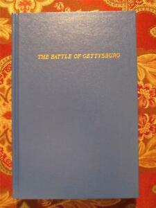 THE BATTLE OF GETTYSBURG - BY SAMUAL BATES - 1891 REPRINT - BRAND NEW