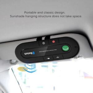 Bluetooth Freisprecheinrichtung Speaker Freisprechanlage Auto KFZ Bluetooth 5.0^