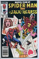 MARVEL TEAM-UP #134 - 7.5, WP - Bubblicious insert - Spider-Man/ Jack of Hearts