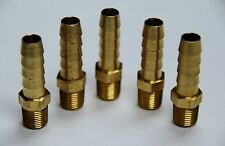 Brass Fittings: Brass Male Hose Barb, Male Pipe Size 1/8