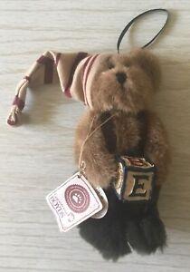Boyds Bears Otis T. Elf Plush Christmas Ornament 93374V NEW QVC Exclusive 2002