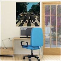 The Beatles Abbey Road Album Cover Photo Wall Sticker 6 sizes A4 -XL 1.2m Poster