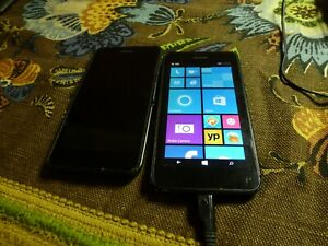 Nokia Lumia 635 - 8GB - Black (AT&T  LOT OF 2 PART'S
