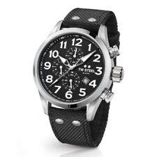Orologi da polso TW Steel con cinturino in tessuto con cronografo