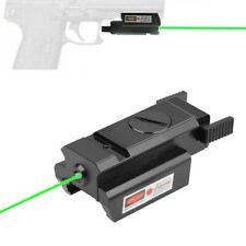 Us Mini Low Profile Green Dot Laser Sight 20mm Picatinny Rail For Rifle Handgun
