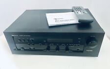 NAKAMICHI AV-300 Audio Video Receiver Bundled W/Remote & Manual -Tested & Works!