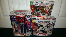 Optimus Prime + Wing Saber & Leobreaker COMBINER! Cybertron Transformers Hasbro
