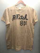 NWT Abercrombie & Fitch by Hollister Men's T-Shirt Tee Graphic Sz L Stone White